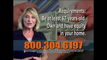 Grassland Financial TV Spot, 'Reverse Mortgages' - Thumbnail 2