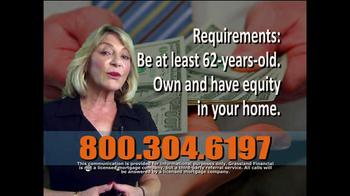 Grassland Financial TV Spot, 'Reverse Mortgages' - Thumbnail 4
