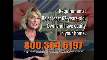 Grassland Financial TV Spot, 'Reverse Mortgages' - Thumbnail 5