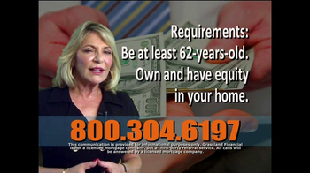 Grassland Financial TV Spot, 'Reverse Mortgages' - Thumbnail 6