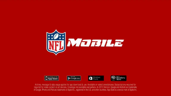 Verizon TV Spot, 'NFL Mobile' - Thumbnail 9