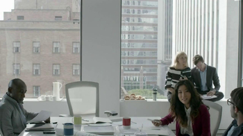 Motorola TV Spot, 'Lazy Phone: Boardroom' Featuring T.J. Miller - Thumbnail 1