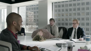 Motorola TV Spot, 'Lazy Phone: Boardroom' Featuring T.J. Miller - Thumbnail 9