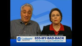Craftmatic TV Spot, '30 Year Marriage' - Thumbnail 10