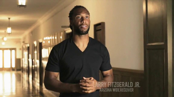 University of Phoenix TV Spot Featuring Larry Fitzgerald - Thumbnail 2