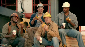 Dunkin' Donuts Angus Steak Big N' Toasted TV Spot,  'Ambiance' - Thumbnail 4