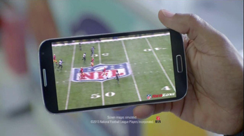 Verizon TV Spot, 'NFL Red Zone' Featuring Jacoby Jones Song by Cayucas - Thumbnail 9