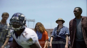 Verizon TV Spot, 'NFL Red Zone' Featuring Jacoby Jones Song by Cayucas - Thumbnail 4