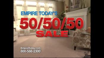 Empire Today 50/50/50 Sale TV Spot - Thumbnail 1