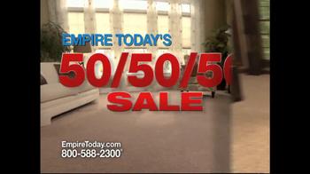Empire Today 50/50/50 Sale TV Spot - Thumbnail 2