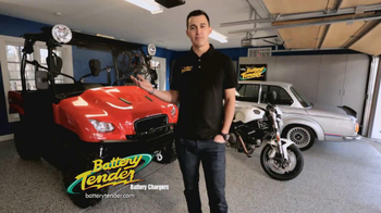 Battery Tender Plus TV Spot Featuring Graham Rahal