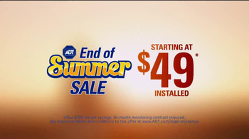 ADT End of Summer Sale TV Spot - Thumbnail 3