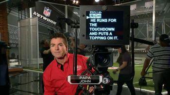 Papa John's TV Spot, 'NFL Network' - 15 commercial airings