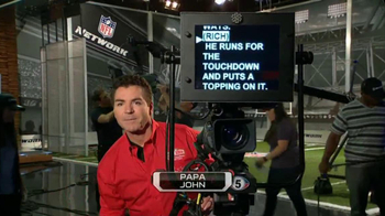 Papa John's TV Spot, 'NFL Network' - 15 commercial airings