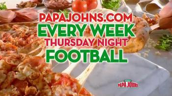 Papa John's TV Spot, 'NFL Network' - Thumbnail 9