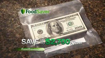FoodSaver TV Spot, 'Save Your Food' - 13413 commercial airings