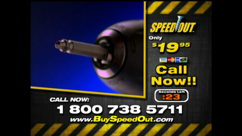 Speed Out TV Spot
