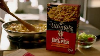 Hamburger Helper Ultimate Helper: Cheddar Broccoli TV Spot, 'Dinner Idea' - Thumbnail 3