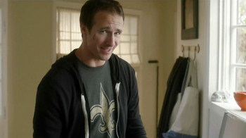 Tide TV Spot, 'NFL' Featuring Drew Brees - Thumbnail 1
