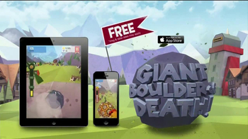 Giant Boulder of Death TV Spot, 'Get Your Rocks Off'