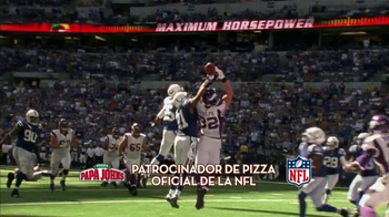Papa John's Buffalo Chicken TV Spot, 'NFL' [Spanish]