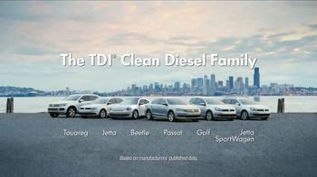 Volkswagen TV Spot, 'The TDI Clean Diesel Family' - Thumbnail 7