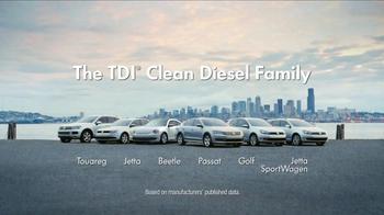 Volkswagen TV Spot, 'The TDI Clean Diesel Family' - Thumbnail 8