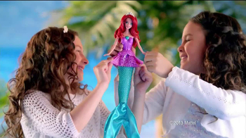 Mermaid to Princess Ariel TV Spot