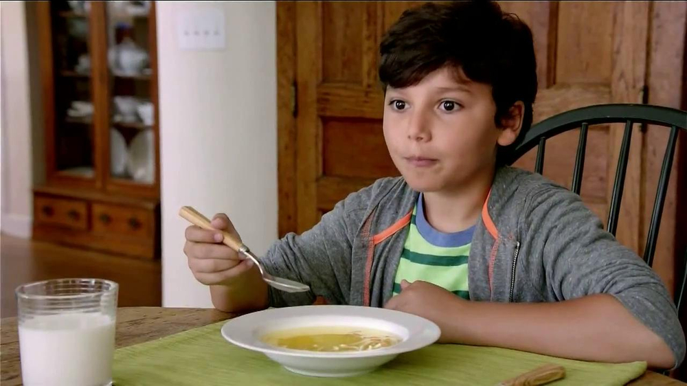 campbell's chicken noodle soup tv commercial, 'wisest kid
