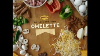Denny's Build Your Own Omlette TV Spot, 'Ome'lart' - Thumbnail 7