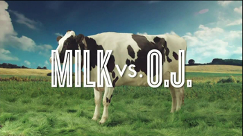 Got Milk? TV Spot, 'Protein Fight Club: Milk vs. OJ' - Thumbnail 2