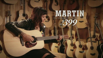 Guitar Center Labor Day Sale TV Spot, 'Martin Dreadnought Acoustic' - Thumbnail 5