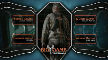 Big Game Treestands Platinum Series Diamondback Harness TV Spot - Thumbnail 1