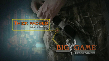 Big Game Treestands Platinum Series Diamondback Harness TV Spot - Thumbnail 3