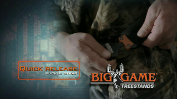 Big Game Treestands Platinum Series Diamondback Harness TV Spot - Thumbnail 5