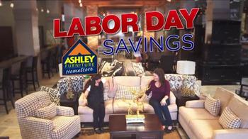 Ashley Furniture Homestore TV Spot, 'Labor Day Savings' - Thumbnail 2