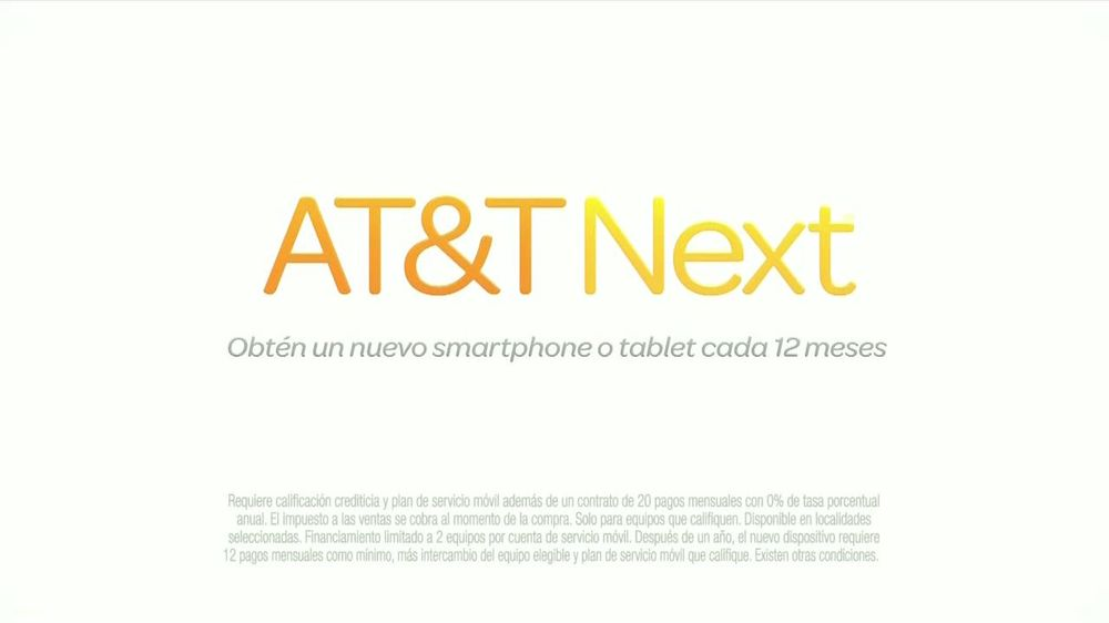 AT&T Next Commercial Televisivo