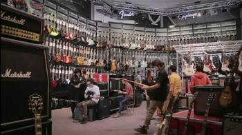 Guitar Center Labor Day Sale TV Spot, 'Fender' - Thumbnail 1