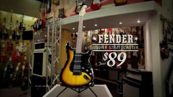 Guitar Center Labor Day Sale TV Spot, 'Fender' - Thumbnail 7