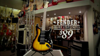 Guitar Center Labor Day Sale TV Spot, 'Fender' - Thumbnail 9