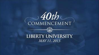 Liberty University TV Spot, '40th Commencement Ceremony' - Thumbnail 1