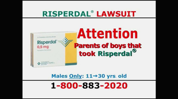 Willis Law Firm TV Spot, 'Risperdal' - Thumbnail 1