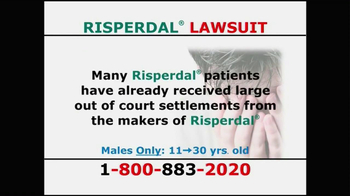 Willis Law Firm TV Spot, 'Risperdal' - Thumbnail 4