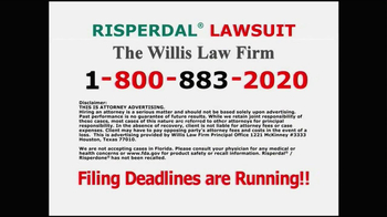 Willis Law Firm TV Spot, 'Risperdal' - Thumbnail 5