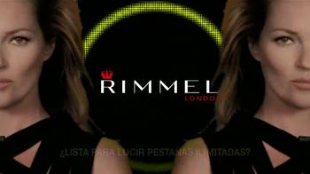 Rimmel London Lash Accelerator Endless Mascara TV Spot, 'Hasta el 99 por ciento más largas' [Spanish]