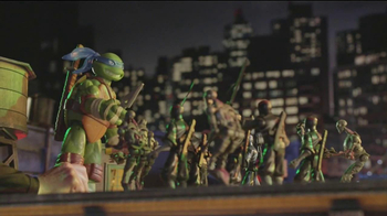 Teenage Mutant Ninja Turtles Super-Sized Battle Shell Turtles TV Spot