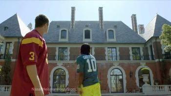 Nissan TV Commercial, 'Heisman House' Ft. Robert Griffin ...