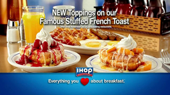 IHOP Stuffed French Toast TV Spot - Thumbnail 10