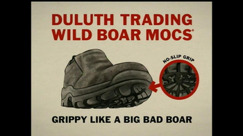 Duluth Trading Wild Boar Mocs TV Spot, 'Grippy Like a Big Bad Boar' - Thumbnail 7