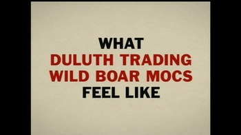 Duluth Trading Wild Boar Mocs TV Spot, 'Grippy Like a Big Bad Boar' - Thumbnail 1